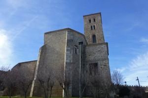 Ábside y torre de la Iglesia de Santa María del Castillo