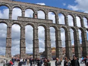 Acueducto de Segovia, el monumento más emblemático de la ciudad