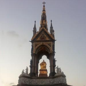 Albert Memorial en los Jardines de Kensington