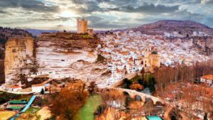 Vista panorámica de Alcalá del Júcar