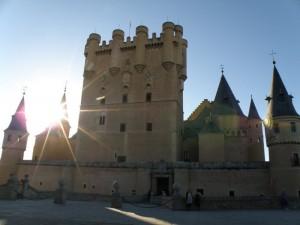 Alcázar de Segovia, historia de Segovia