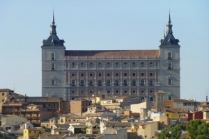 Alcázar de Toledo, el edificio civil más importante de la ciudad, castillos de Toledo