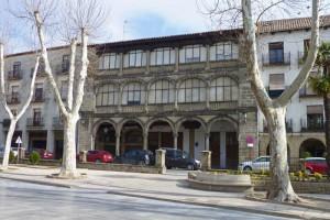 Alhóndiga de Baeza, uno de los edificios más emblemáticos del Paseo de la Constitución