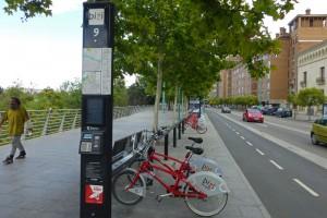 Servicio público de alquiler de bicicletas de Zaragoza, cómo moverse por Zaragoza