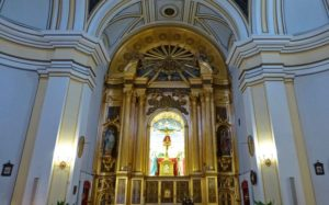Altar Mayor de la Ermita del Cristo del Humilladero