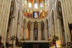 Altar Mayor de la Catedral de la Almudena de Madrid