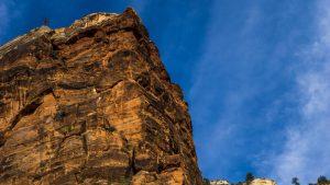 Aterrizaje de los Ángeles (Angels Landing) en el Parque Nacional Zion