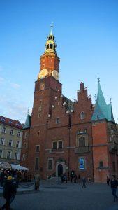 Torre del Antiguo Ayuntamiento de Breslavia