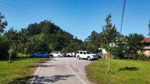 Aparcamiento público en Riocorvo