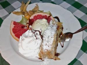 Apfelstrudel, uno de los dulces más típicos de Múnich
