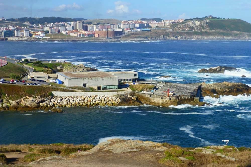 Aquarium Finisterrae, una de las principales atracciones de La Coruña