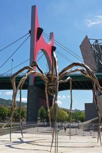 """Maman"" de Louise Bourgeois en el Museo Guggenheim de Bilbao"