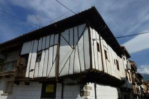 Casa entramada típica de Candeleda