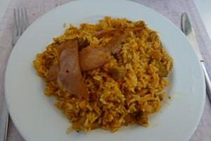 Arroz a la zamorana, uno de los platos más típicos de la gastronomía de Zamora