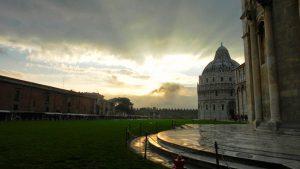 Atardecer en Pisa