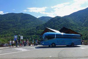 Autobús de Torla a la Pradera de Ordesa