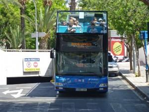 Autobús turístico de Alicante, cómo moverse por Alicante