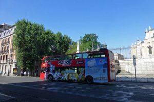 Autobús turístico de Madrid, la forma más pintoresca de recorrer la ciudad