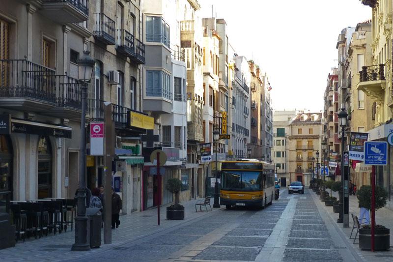 Transporte de Jaén, cómo moverse por Jaén, cómo llegar a Jaén