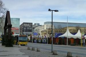 Autobús urbano de Stuttgart, uno de los medios de transporte más utilizados para moverse por la ciudad
