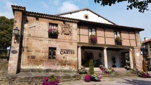 Casona de los Quijano-Rasa, actual Ayuntamiento de Cartes