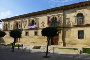 Edificio del Ayuntamiento de Baeza, declarado Bien de Interés Cultural