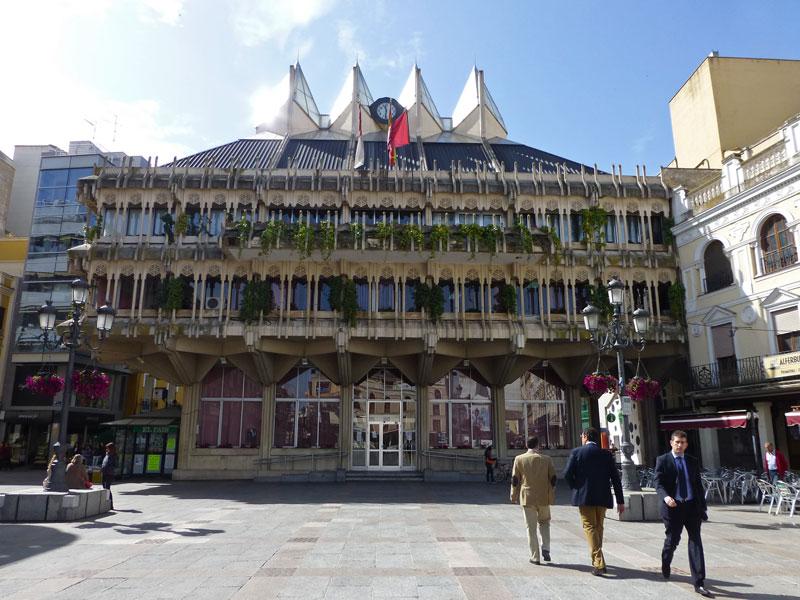Ayuntamiento de Ciudad Real en la Plaza Mayor