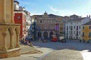 Plaza Mayor, la más visitada de las plazas de Cuenca