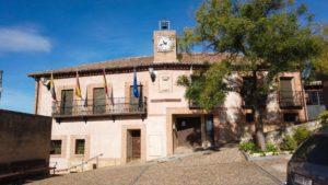 Ayuntamiento de Hita en la Plaza de Doña Endrina