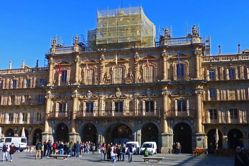 Plazas y jardines de Salamanca