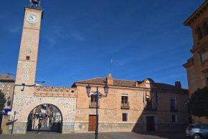 Ayuntamiento de Consuegra y Torre del Reloj