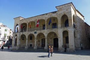 Ayuntamiento Viejo, edificios civiles de Zamora