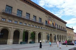 Ayuntamiento de Zaragoza en la Plaza del Pilar