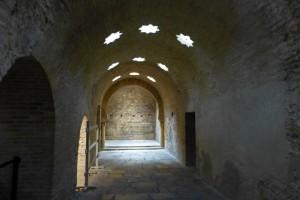 Sala Caliente de los Baños Árabes de Jaén