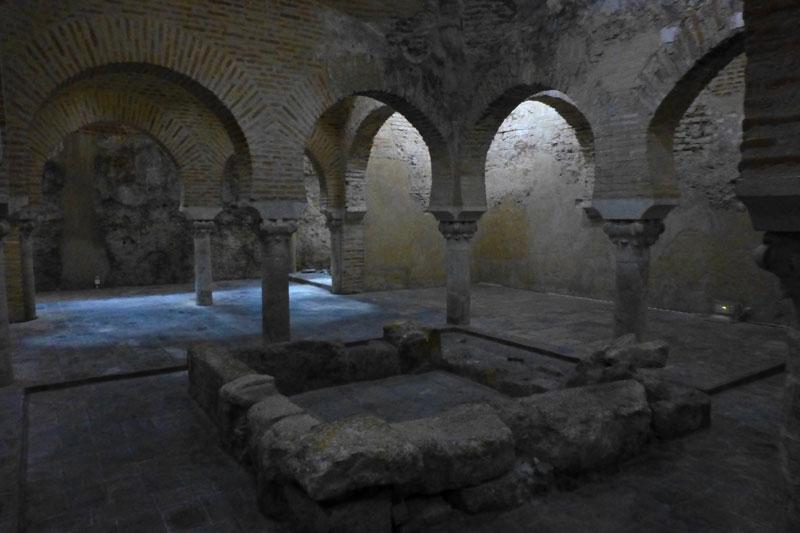 Sala Templada de los Baños Árabes de Jaén