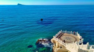 Balcón del Mediterráneo a los pies de la Plaza del Castillo
