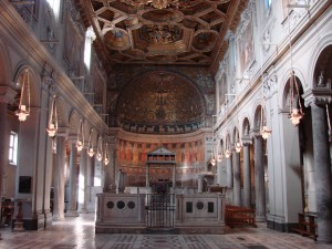 Basílica de San Clemente de Letrán. Foto de Allie_Caulfield.