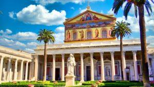 Basílica de San Pablo Extramuros, la segunda más grande de las iglesias de Roma