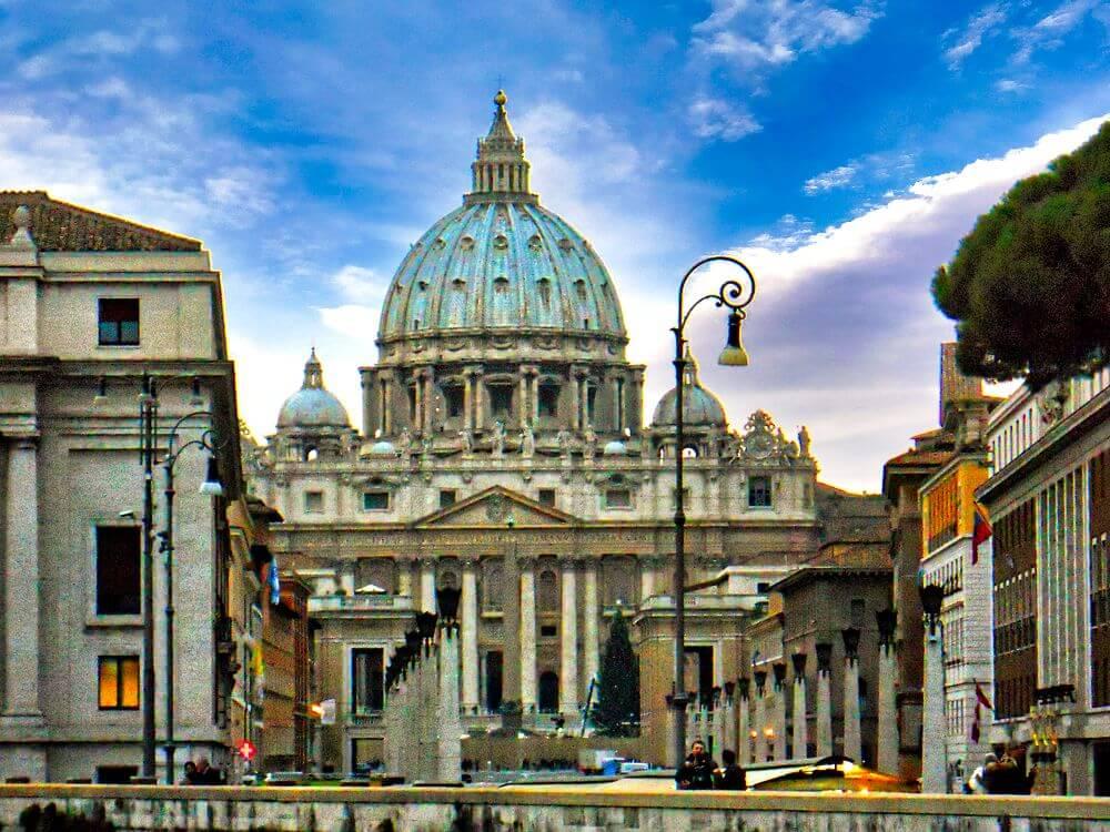 Ciudad del Vaticano en el corazón de Roma