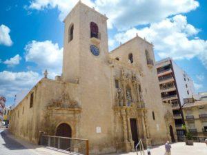 Basílica de Santa María, la iglesia más antigua de Alicante