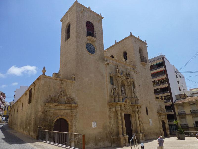 Basílica de Santa María en Alicante, qué ver y hacer en Alicante