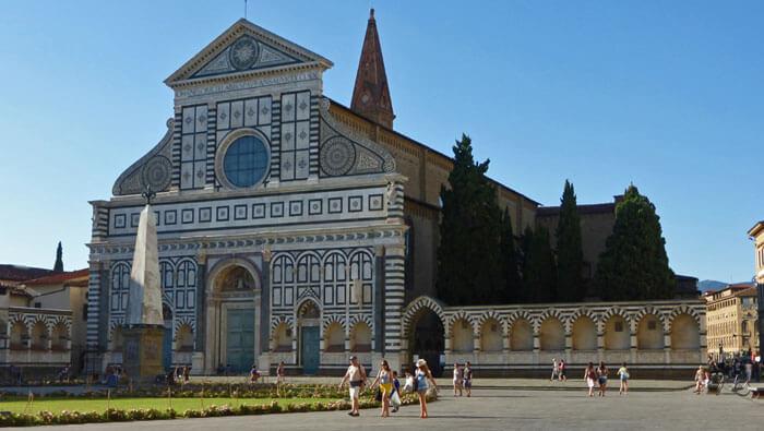 Basílica de Santa María Novella en Florencia