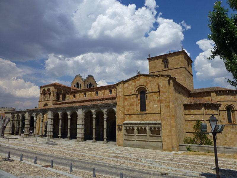 Basílica de San Vicente en Ávila