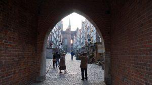 Basílica de Santa María desde la Puerta de María (Brama Mariacka)