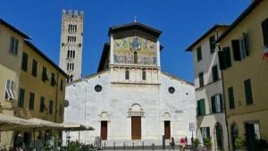 Basílica de San Frediano, una de las más antiguas de Lucca