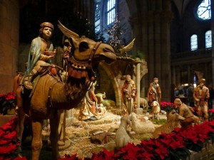 Belén en la Catedral de Friburgo de Brisgovia