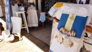 Muestra del encaje de bolillos de Almagro