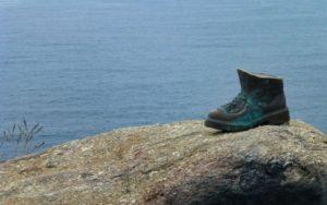 Monumento de la bota del peregrino