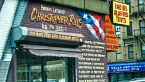 Negocio de música en El Bronx, cuna del Hip-Hop