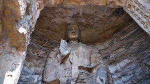 Buda en las Grutas de Yungang
